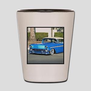 Classic Blue Car Shot Glass