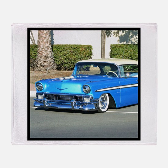 Classic Blue Car Throw Blanket