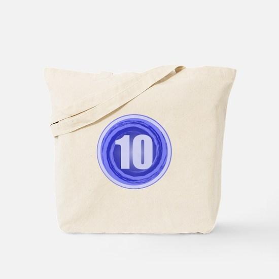 10th Birthday Tote Bag