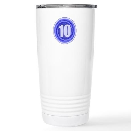 10th Birthday Stainless Steel Travel Mug