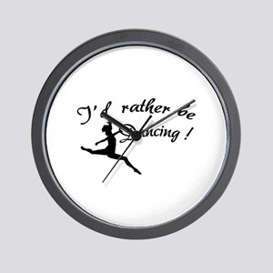 I'd rather be dancing ! Wall Clock