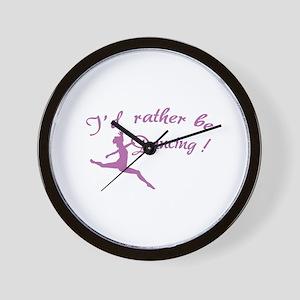 I'd rather be dancing ! Wall Clock