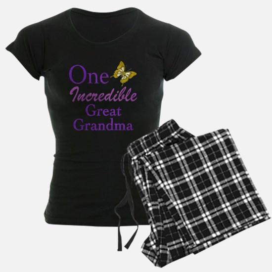 One Incredible Great Grandma Pajamas