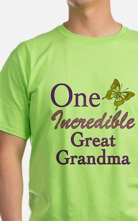 One Incredible Great Grandma T-Shirt