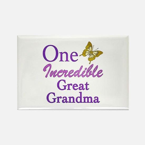 One Incredible Great Grandma Rectangle Magnet