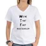 We're That Fast - Women's V-Neck T-Shirt