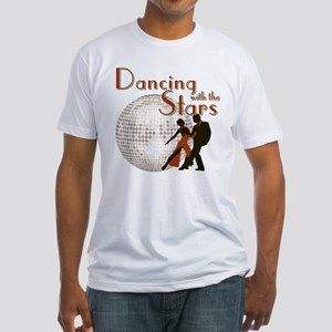 Retro Dancing with the Stars Fitted T-Shirt