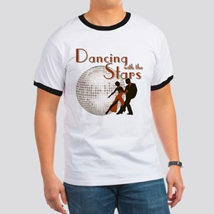 Retro Dancing with the Stars Ringer T-Shirt
