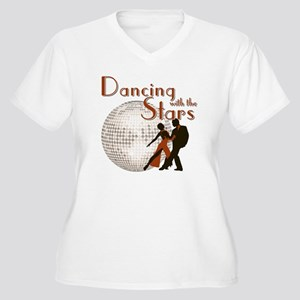 Retro Dancing with the Stars Women's Plus Size V-N