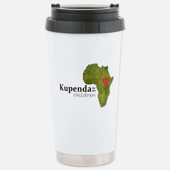 Kupenda Logo Stainless Steel Travel Mug