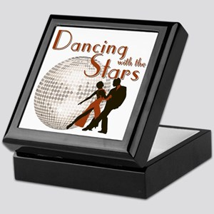Retro Dancing with the Stars Keepsake Box