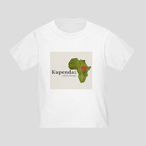 Kupenda Tan Logo Toddler T-Shirt