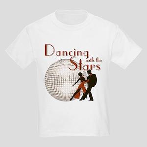 Retro Dancing with the Stars Kids Light T-Shirt