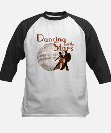 Retro Dancing with the Stars Kids Baseball Jersey