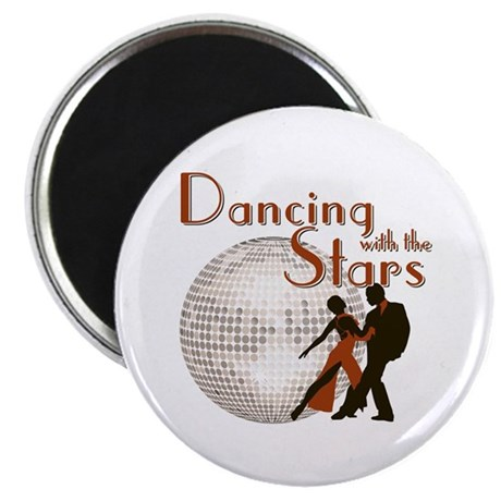 "Retro Dancing with the Stars 2.25"" Magnet (100 pac"