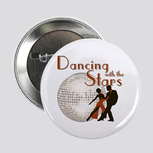 """Retro Dancing with the Stars 2.25"""" Button"""