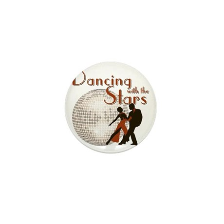 Retro Dancing with the Stars Mini Button (100 pack