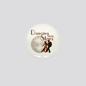 Retro Dancing with the Stars Mini Button