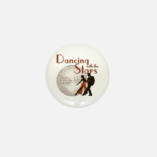 Retro Dancing with the Stars Mini Button (10 pack)