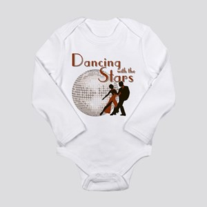 Retro Dancing with the Stars Long Sleeve Infant Bo