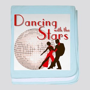 Retro Dancing with the Stars Infant Blanket