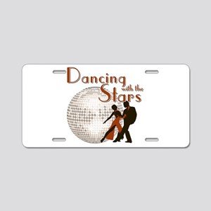 Retro Dancing with the Stars Aluminum License Plat