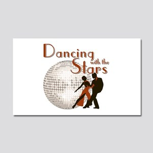 Retro Dancing with the Stars Car Magnet 20 x 12