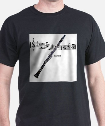 Clarinet Music T-Shirt