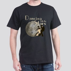 Retro Dancing with the Stars Dark T-Shirt