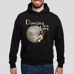 Retro Dancing with the Stars Dark Hoodie