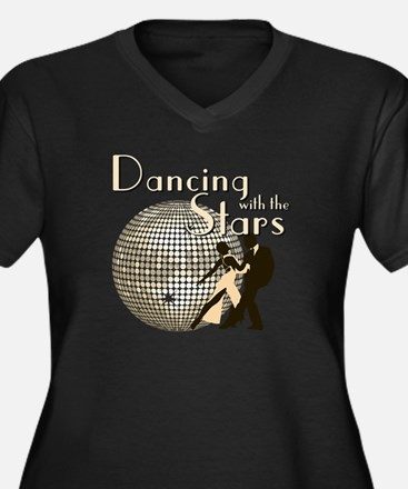 Retro Dancing with the Stars Women's Dark Plus Siz