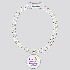 One Incredible Daughter-In-Law Charm Bracelet, One