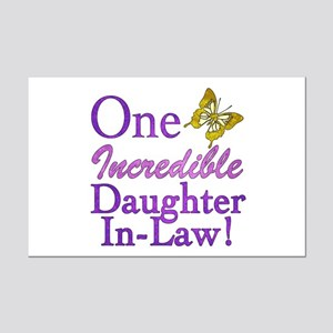 One Incredible Daughter-In-Law Mini Poster Print