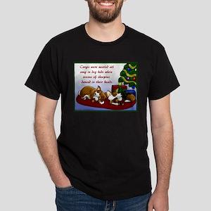 Christmas Corgis Dark T-Shirt