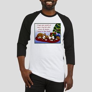 Christmas Corgis Baseball Jersey