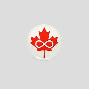 Canadian Metis Flag Mini Button