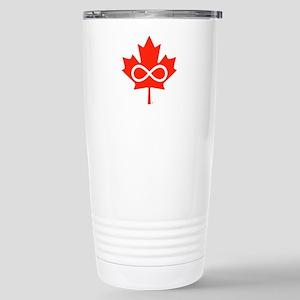 Canadian Metis Flag Stainless Steel Travel Mug