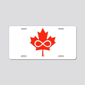 Canadian Metis Flag Aluminum License Plate