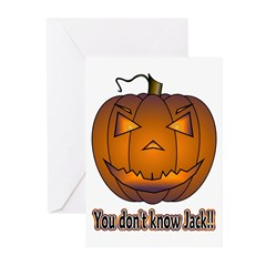 You Don't Know Jack! Greeting Cards (Pk of 10)