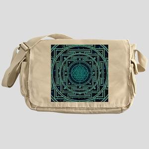 Starry Sky Yantra Messenger Bag