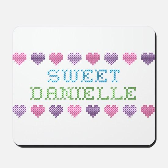 Sweet DANIELLE Mousepad