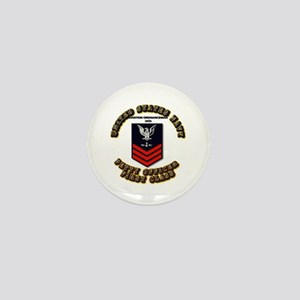 US Navy - AO with text Mini Button