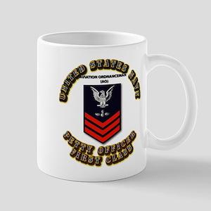 US Navy - AO with text Mug