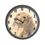 Dachshund (Longhaired) Wall Clock