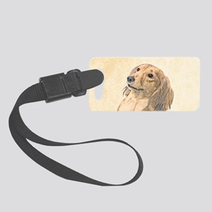 Dachshund (Longhaired) Small Luggage Tag
