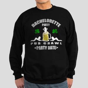 Custom Irish Bachelorette Party Sweatshirt (dark)