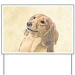 Dachshund (Longhaired) Yard Sign