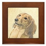 Dachshund (Longhaired) Framed Tile