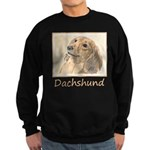 Dachshund (Longhaired) Sweatshirt (dark)