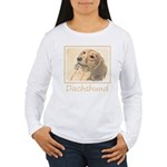 Dachshund (Longhaired) Women's Long Sleeve T-Shirt